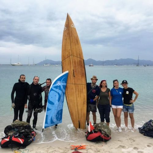 World Clean Up Day 2019 à Cannes avec SurfRider, Sea Shepherd, Opération Mer Propre, Panda Event